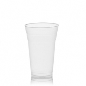 Verre plastique granit et milk shake 500cc for Vitrine plastique transparent