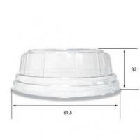Couvercle bombé transparent (x90ml)