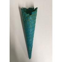 Cornet glace bleu 1 boule (4,7x16,1cm)